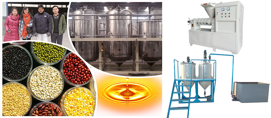 Corn Oil Making Machine