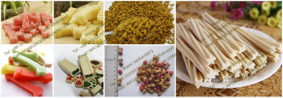 China Auto Pet Food Extrusion Machine/floating Fish Feed Extruder