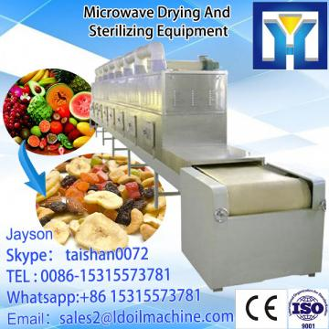 tunnel type continuous working microwave drying machine for purple sweet potato