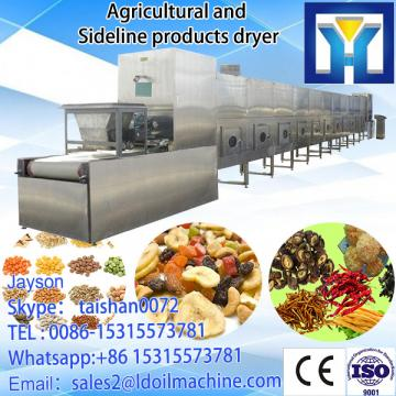 tunnel continuous conveyor belt type industrial microwave oven for drying and sterilizing cocoa powder