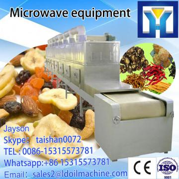 tunnel-industrial tea leaf sterilizing and drying microwave equipment