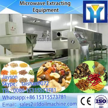 Conveyor belt microwave sterilizing oven for tomato sauce