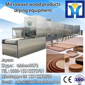 Industrial microwave drying and fixing machine for medlar leaves tea