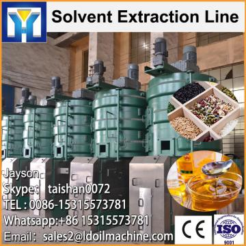 High oil yield crude soybean oil refinery