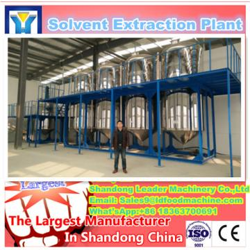 Pre-pressing solvent extraction machine for soyabean oil making