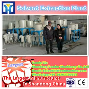High efficiency edible oil processing line