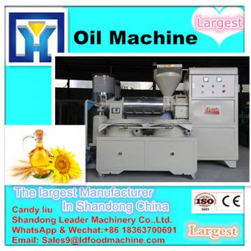 Hydraulic oil press for oil production