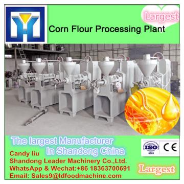 Continuous physical crude soybean oil refinery plant
