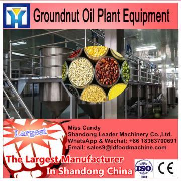 1-10TPD mini plant castor oil refining machine