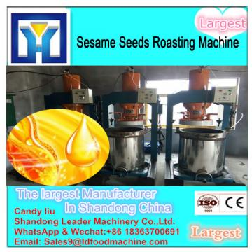Full automatic crude flaxseed oil refinery plant with low consumption