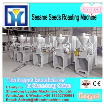 Full automatic crude flaxseed oil refining machine with low consumption