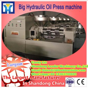 big capacity raw material hemp seed oil press machine
