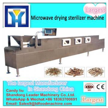 Low Temperature Greentea Microwave  machine factory