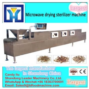 Low Temperature Herbal tea Microwave  machine factory