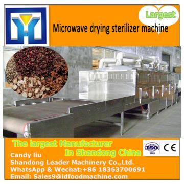 Low Temperature Mulberry leaves tea Microwave  machine factory