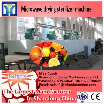 Low Temperature crushed chili Microwave  machine factory