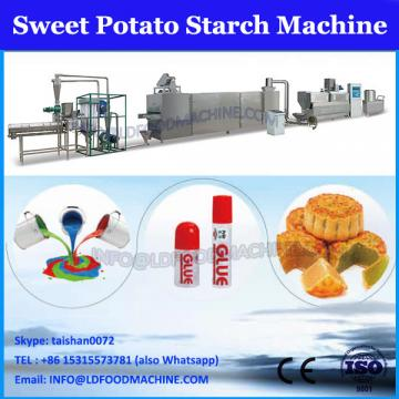 Circular sweet potato starch fine screening machine