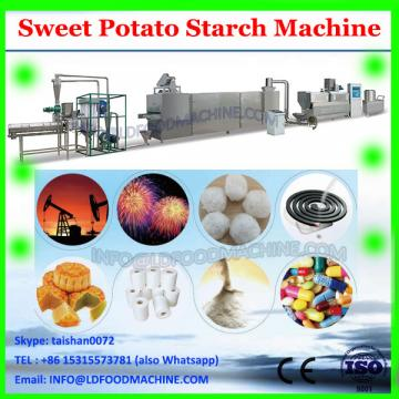 hot cassava arrowroot starch processing line, sweet potato flour making machine