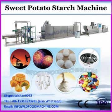 Sweet potato flour making machine make high grade flour