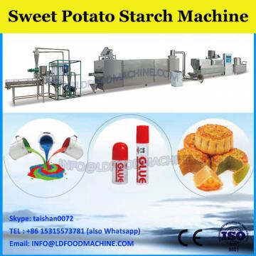 hot selling cassava arrowroot starch processing line sweet potato flour making machine