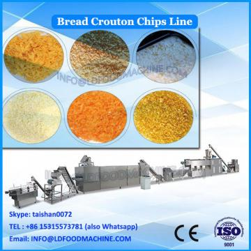 Automatic bread pan / Crouton / corn curls snack food production line for sale