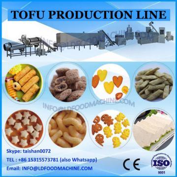 150kg/h capacity soybean milk tofu making machinery