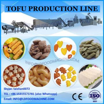Professional factory supplied tofu production line for sale