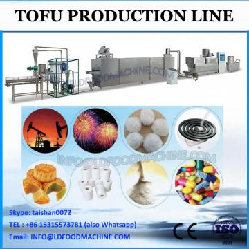 Gas tofu press bean milk making machine
