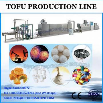 good quality automatic soybean milk tofu making machine