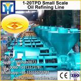 1TPD small plant mill peanut crude oil refinery machine