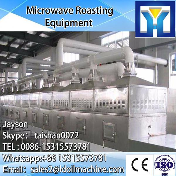 Tunnel Type Carrot Microwave Dryer Sterilizer Machine/Industrial Vegetable Drying Machine #2 image
