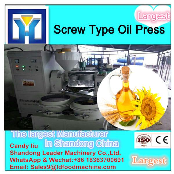 Low noise automatic oil press machine/screw oil extraction plant/cooking oil press #2 image