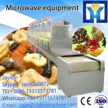 Industrial microwave  dryer and sterilizer machine