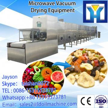 Industrial continuous microwave dryer and sterilizer oven for potato chips