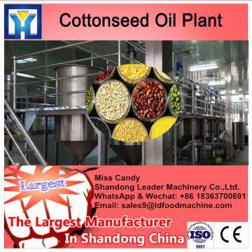 Low residual oil rate in the cake sunflower oil expeller line