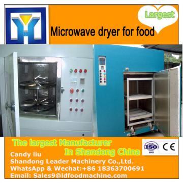 Industrial microwave herbal tea drying machine