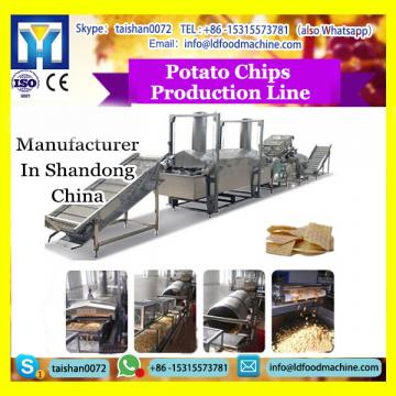 304 food grade stainless steel potato chips production line
