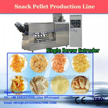 Lower Price Single Screw Crispy Pea Screw Shell Potato Starch Powder Food Papad Extruder Machine Processing Equipment