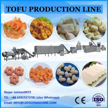 Soy milk fresh tofu production line, soy milk processing machine