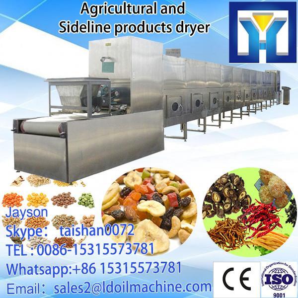 Tunnel Continuous Conveyor Belt Rice Powder Dryer Sterilizer Machine/Rice Drying Machine #3 image