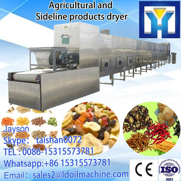 Tunnel Type Carrot Microwave Dryer Sterilizer Machine/Industrial Vegetable Drying Machine #1 image