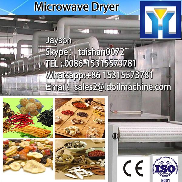 Tunnel Type Carrot Microwave Dryer Sterilizer Machine/Industrial Vegetable Drying Machine #4 image