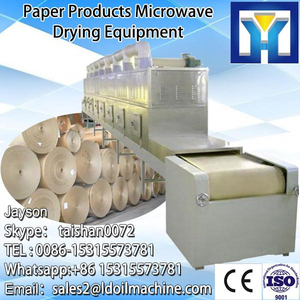 Tunnel Type Carrot Microwave Dryer Sterilizer Machine/Industrial Vegetable Drying Machine #5 image