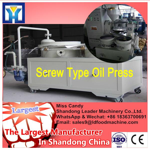 Low noise automatic oil press machine/screw oil extraction plant/cooking oil press #3 image