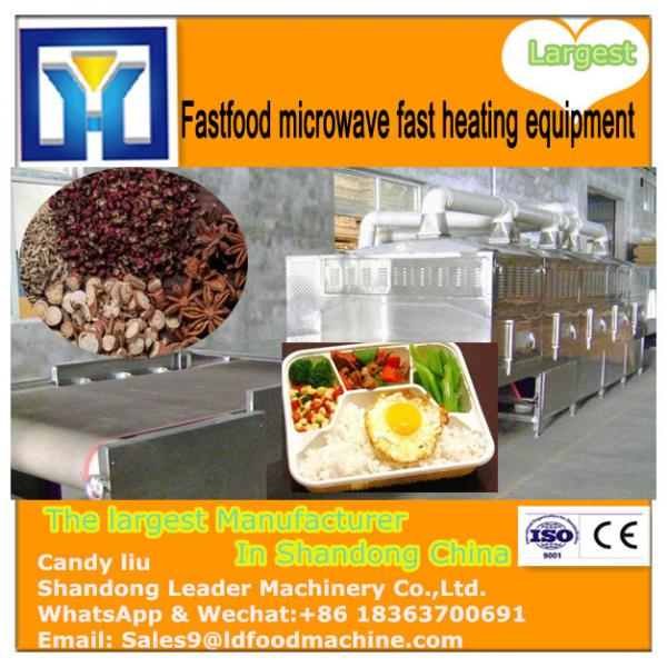 High quality moringa leaf /tea leaf microwave drying machine #3 image