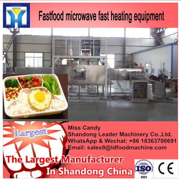 High quality moringa leaf /tea leaf microwave drying machine #2 image